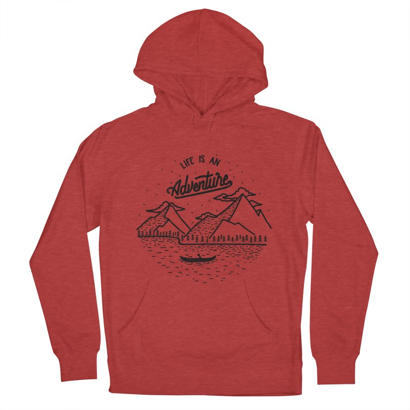 ADVNTR Men's Pullover Hoody by wege on threadless