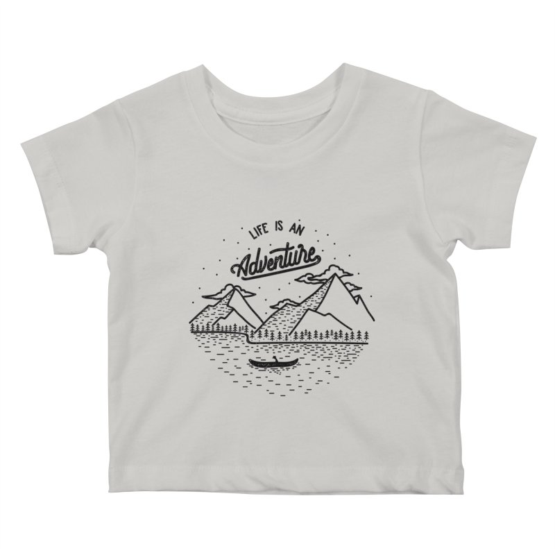 ADVNTR Kids Baby T-Shirt by wege on threadless