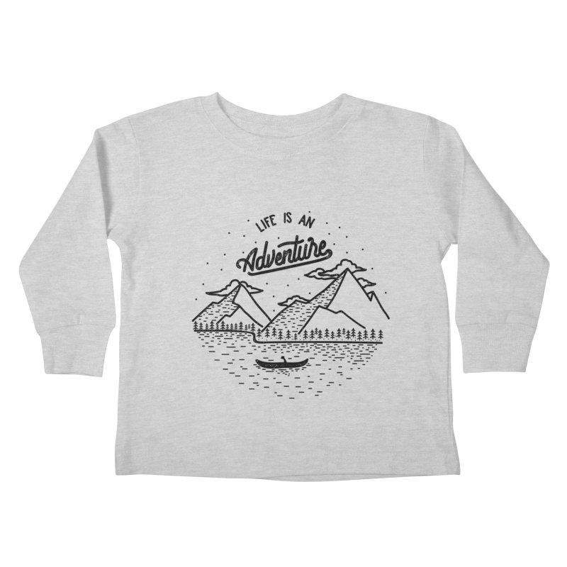 ADVNTR Kids Toddler Longsleeve T-Shirt by wege on threadless