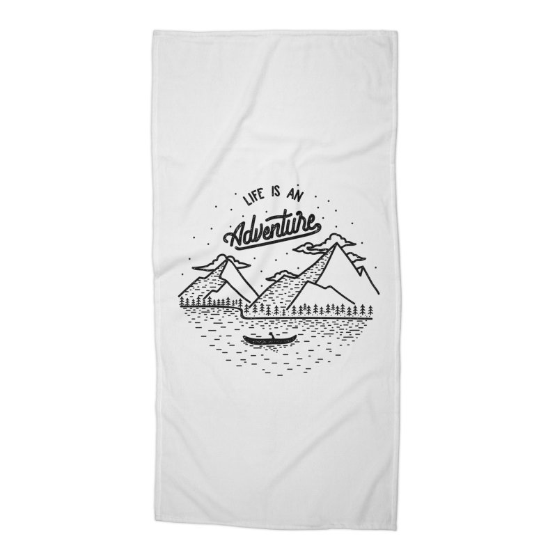 ADVNTR Accessories Beach Towel by wege on threadless