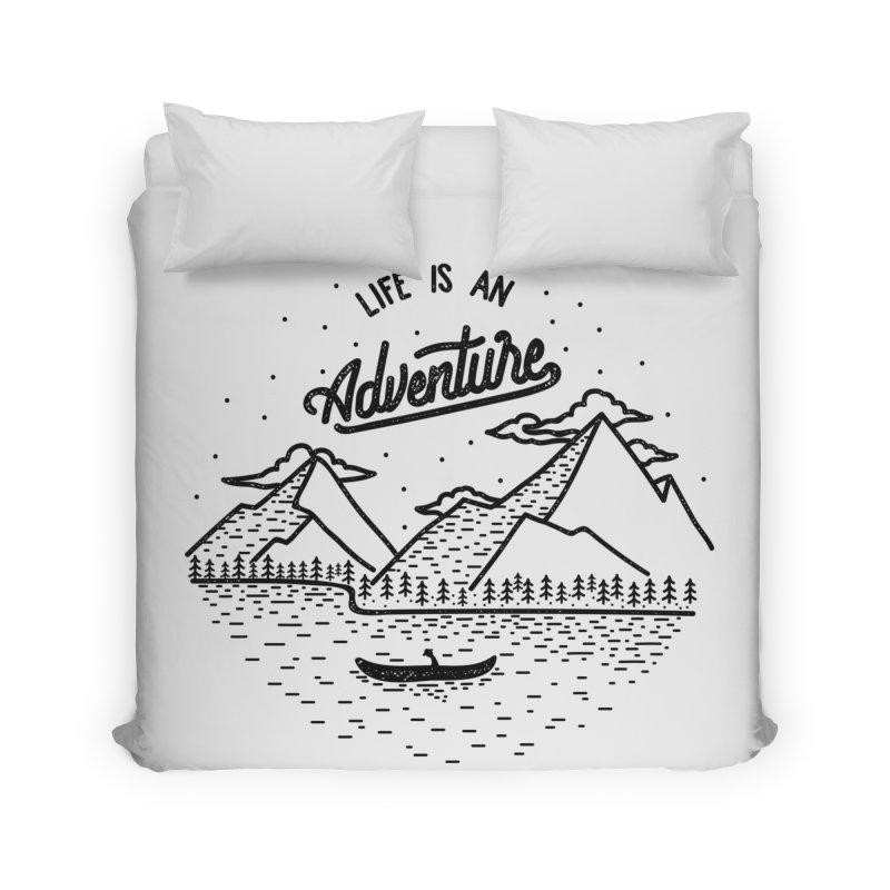 ADVNTR Home Duvet by wege on threadless