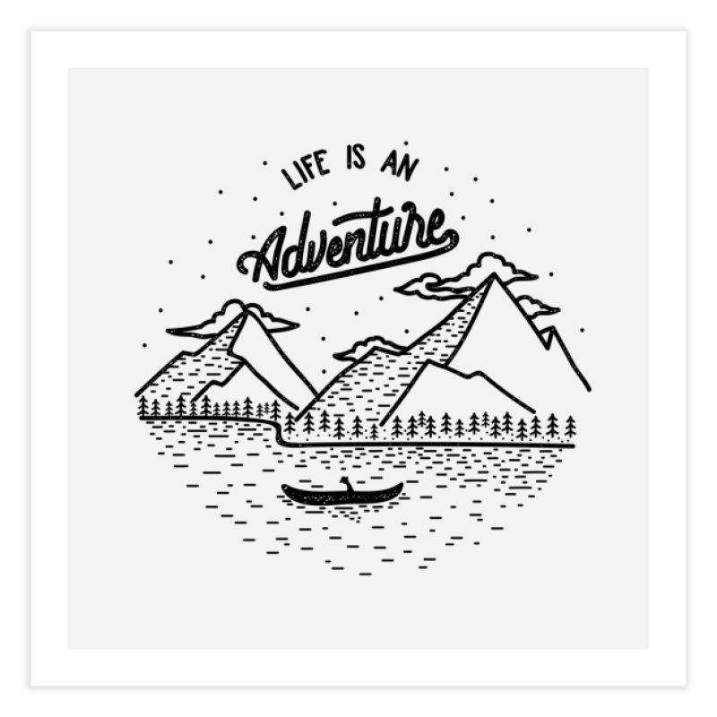 ADVNTR Home Fine Art Print by wege on threadless