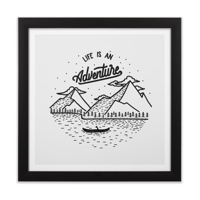 ADVNTR Home Framed Fine Art Print by wege on threadless