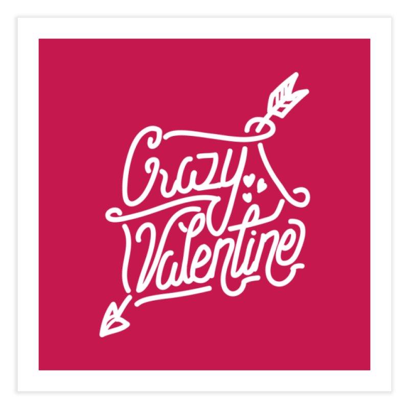 Craz Val Home Fine Art Print by wege on threadless