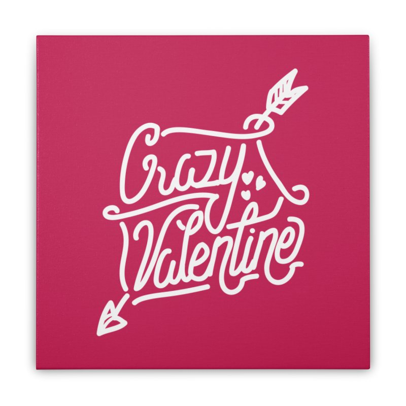 Craz Val Home Stretched Canvas by wege on threadless