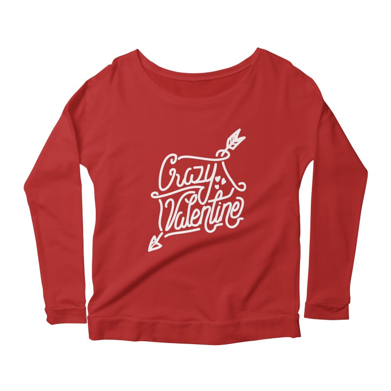Craz Val Women's Longsleeve Scoopneck  by wege on threadless