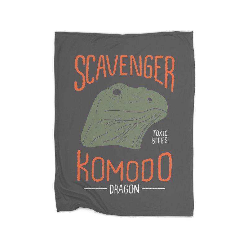 Scavenger Komodo Home Blanket by wege on threadless