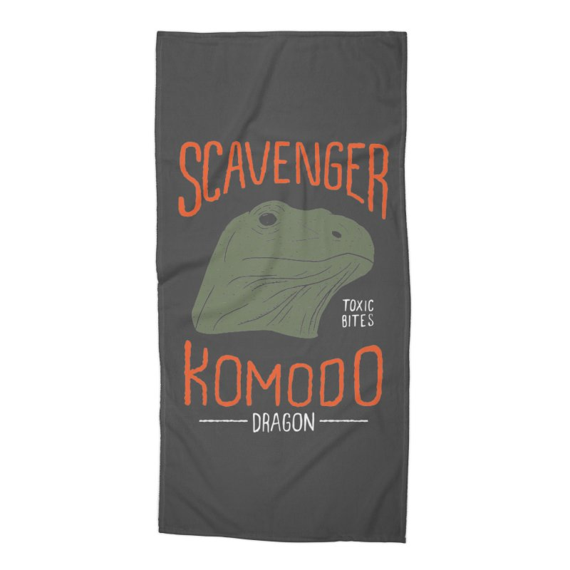 Scavenger Komodo Accessories Beach Towel by wege on threadless