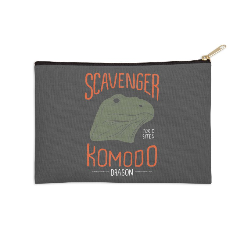 Scavenger Komodo Accessories Zip Pouch by wege on threadless