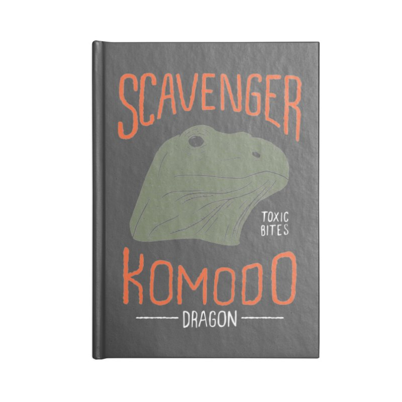 Scavenger Komodo Accessories Notebook by wege on threadless