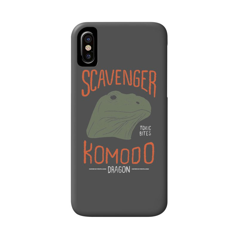 Scavenger Komodo Accessories Phone Case by wege on threadless