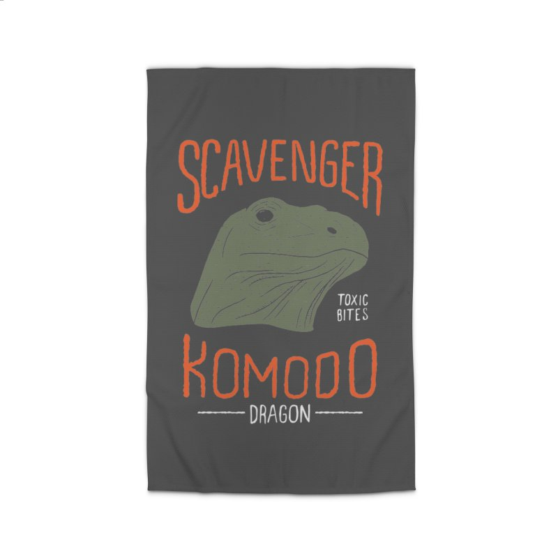 Scavenger Komodo Home Rug by wege on threadless