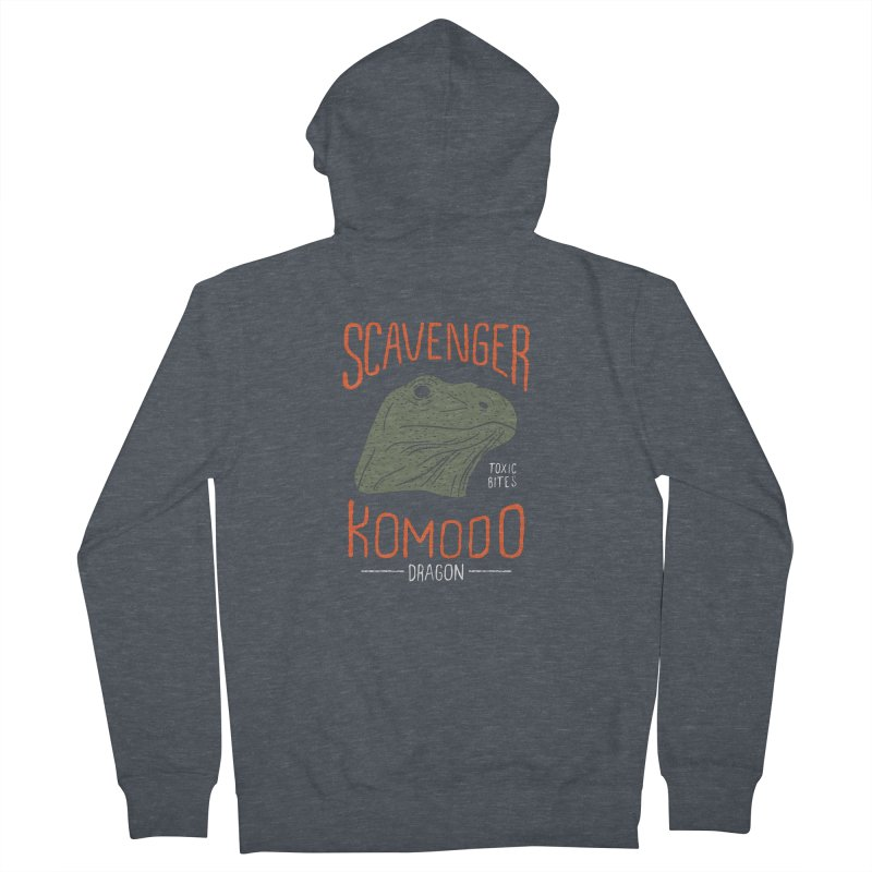 Scavenger Komodo Men's Zip-Up Hoody by wege on threadless