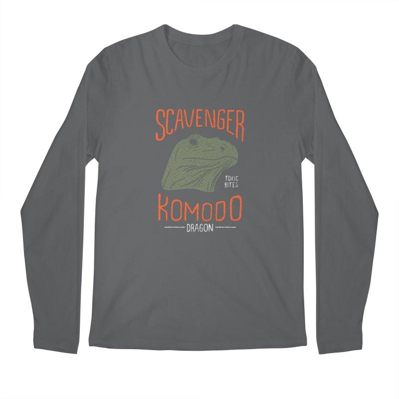 Scavenger Komodo Men's Longsleeve T-Shirt by wege on threadless