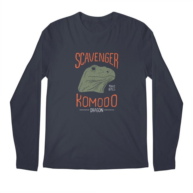 Scavenger Komodo Men's Longsleeve T-Shirt by wege on threadless