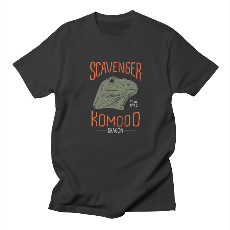 Scavenger Komodo in Men's T-Shirt Smoke by wege on threadless