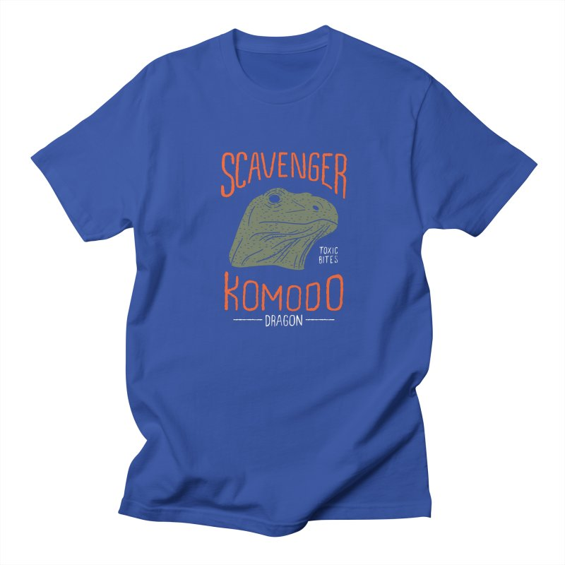Scavenger Komodo Men's T-Shirt by wege on threadless