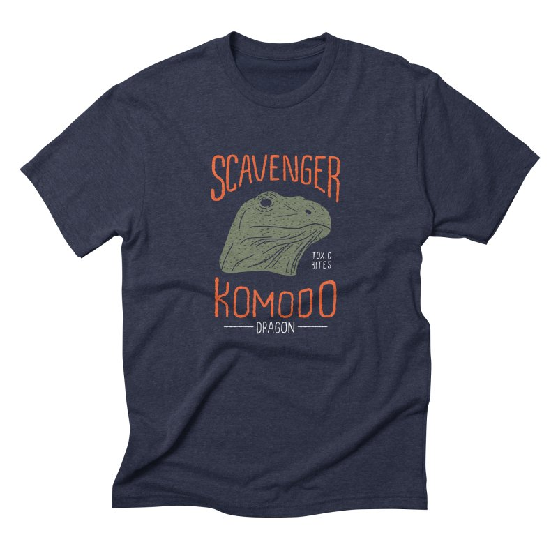 Scavenger Komodo Men's Triblend T-Shirt by wege on threadless