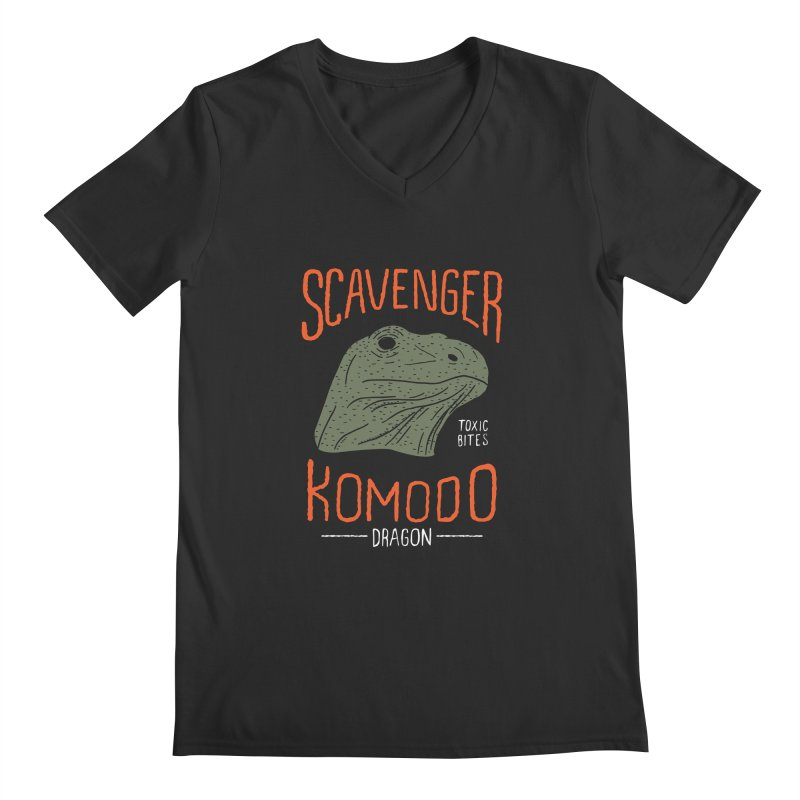 Scavenger Komodo Men's V-Neck by wege on threadless