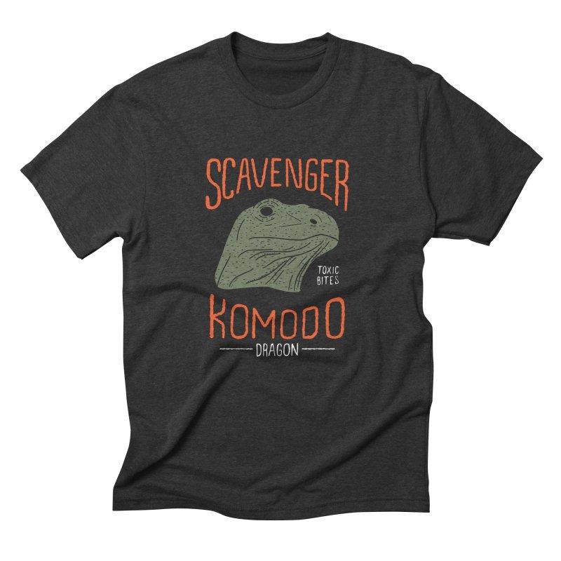 Scavenger Komodo Men's Triblend T-shirt by wege on threadless