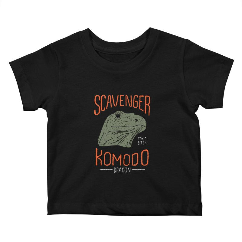 Scavenger Komodo Kids Baby T-Shirt by wege on threadless