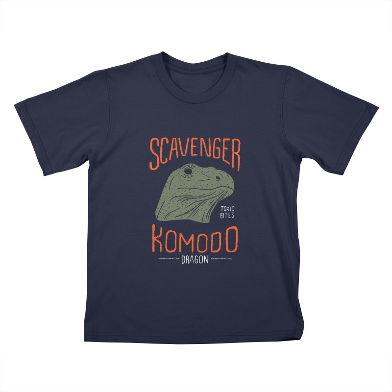 Scavenger Komodo Kids T-shirt by wege on threadless