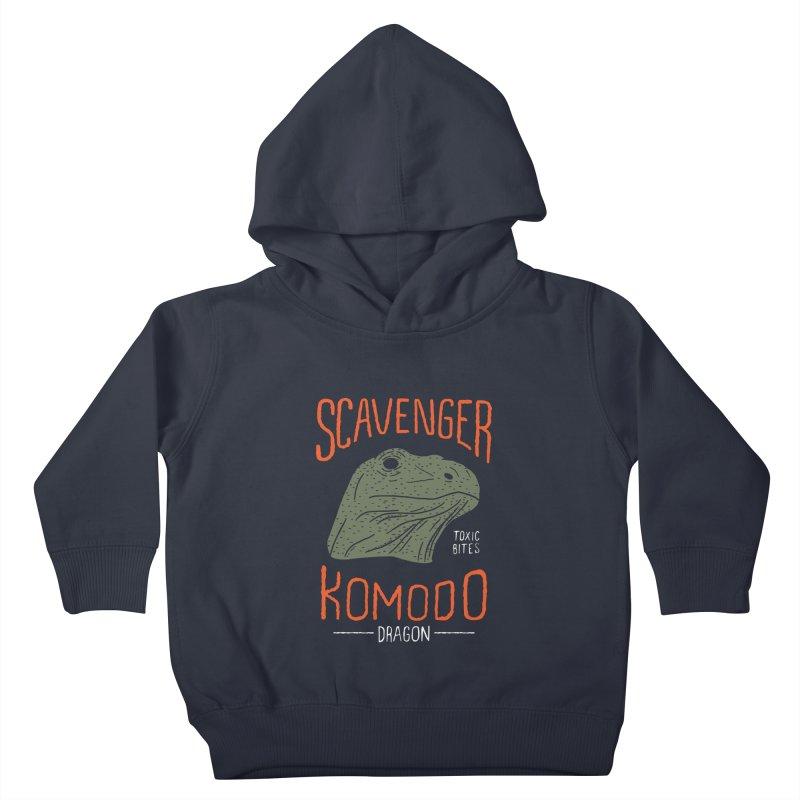 Scavenger Komodo Kids Toddler Pullover Hoody by wege on threadless