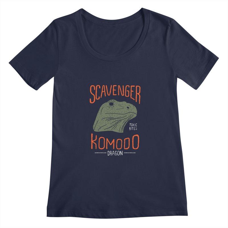 Scavenger Komodo Women's Scoopneck by wege on threadless
