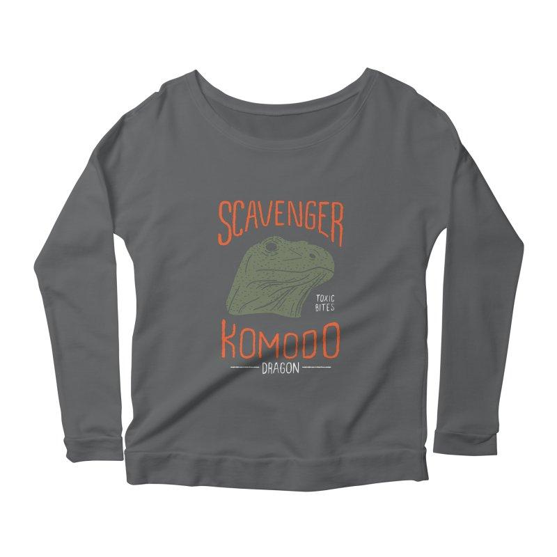 Scavenger Komodo Women's Longsleeve Scoopneck  by wege on threadless