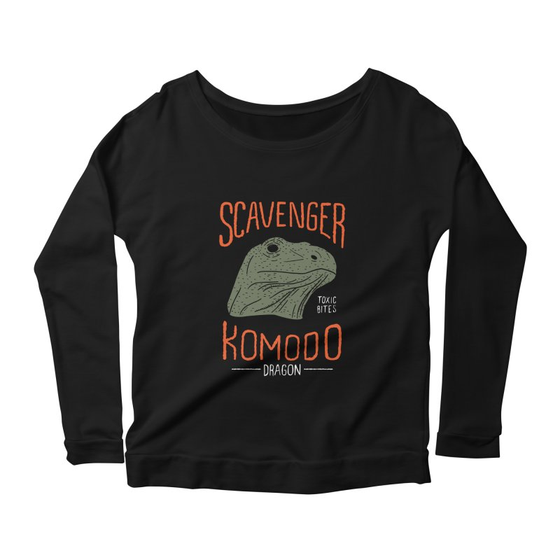 Scavenger Komodo Women's Longsleeve Scoopneck  by wege on threadless