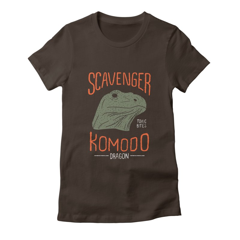 Scavenger Komodo Women's Fitted T-Shirt by wege on threadless