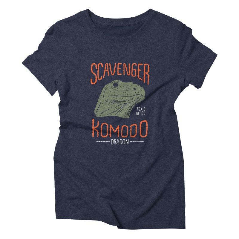 Scavenger Komodo Women's Triblend T-Shirt by wege on threadless