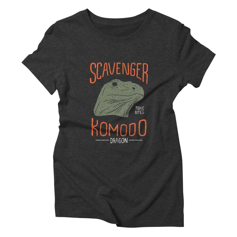 Scavenger Komodo Women's Triblend T-shirt by wege on threadless