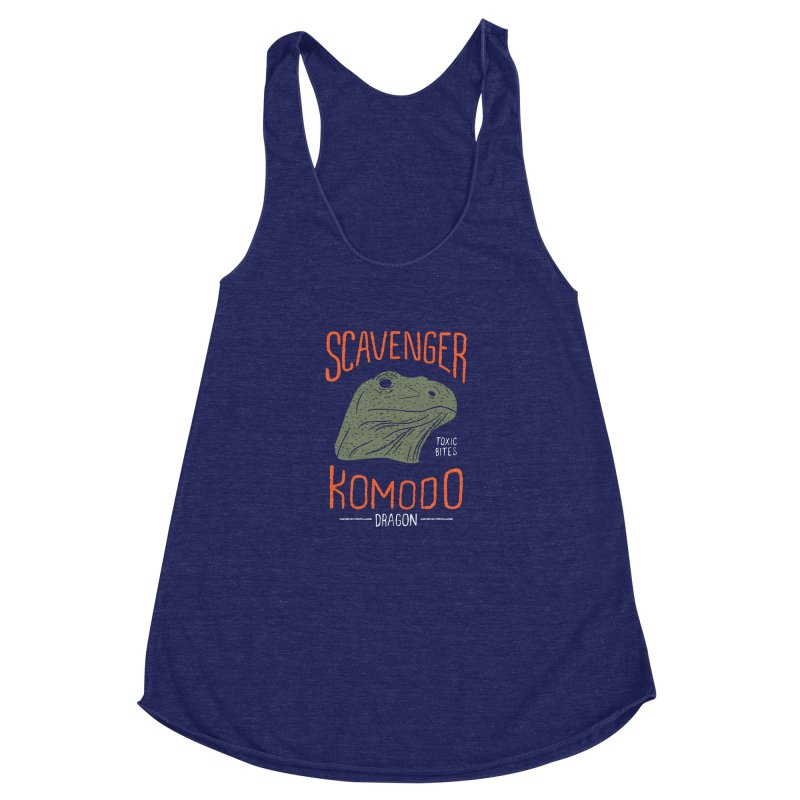 Scavenger Komodo Women's Racerback Triblend Tank by wege on threadless