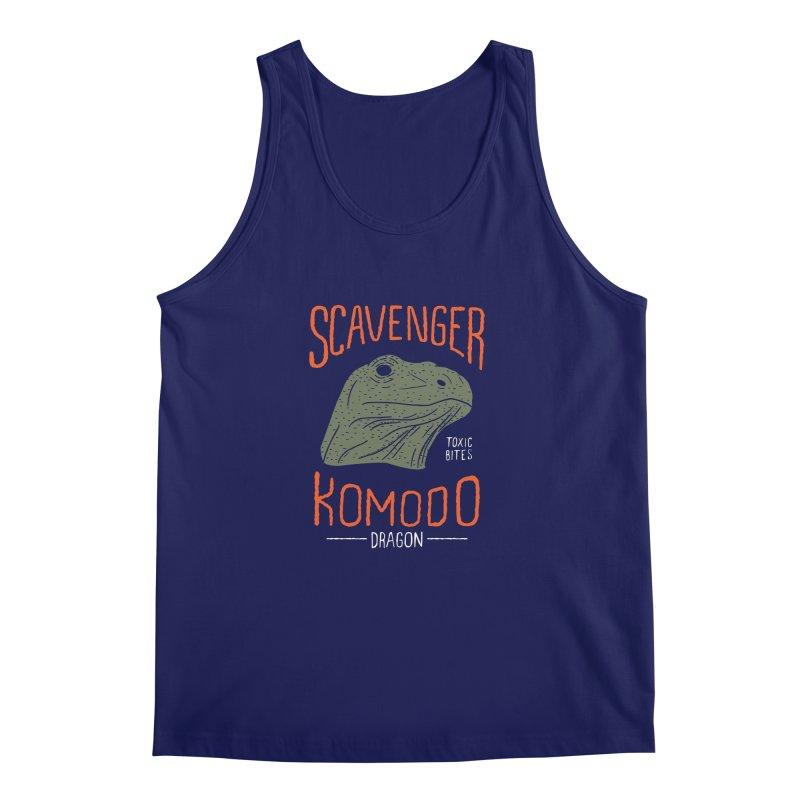 Scavenger Komodo Men's Tank by wege on threadless