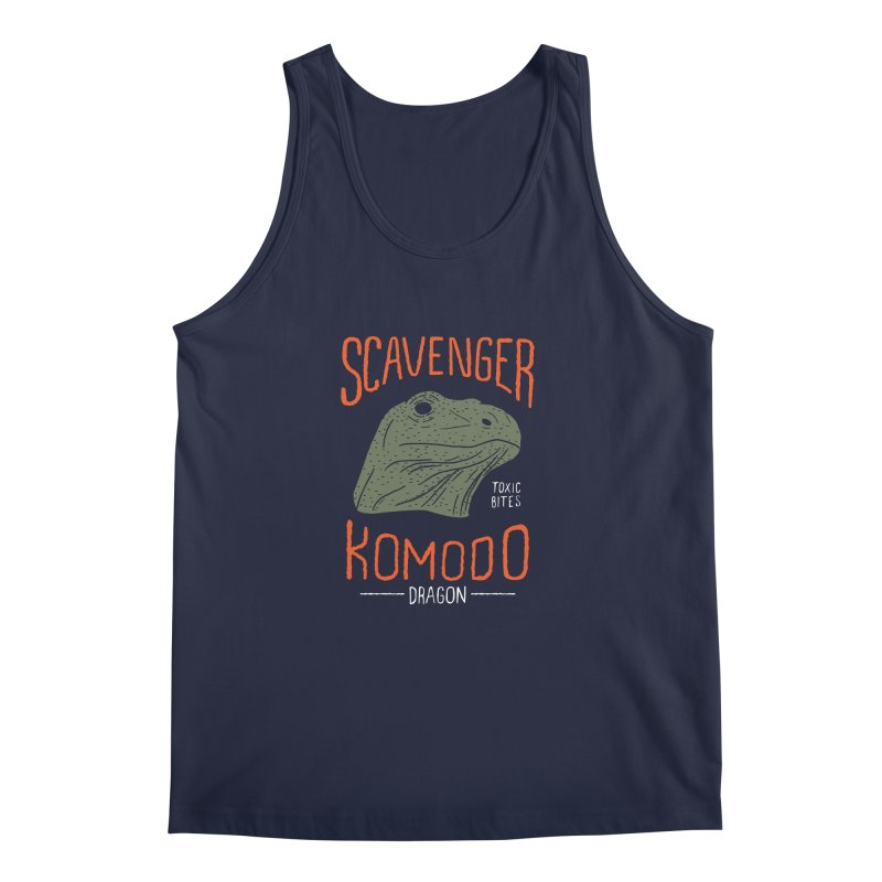 Scavenger Komodo Men's Tank by wege on threadless