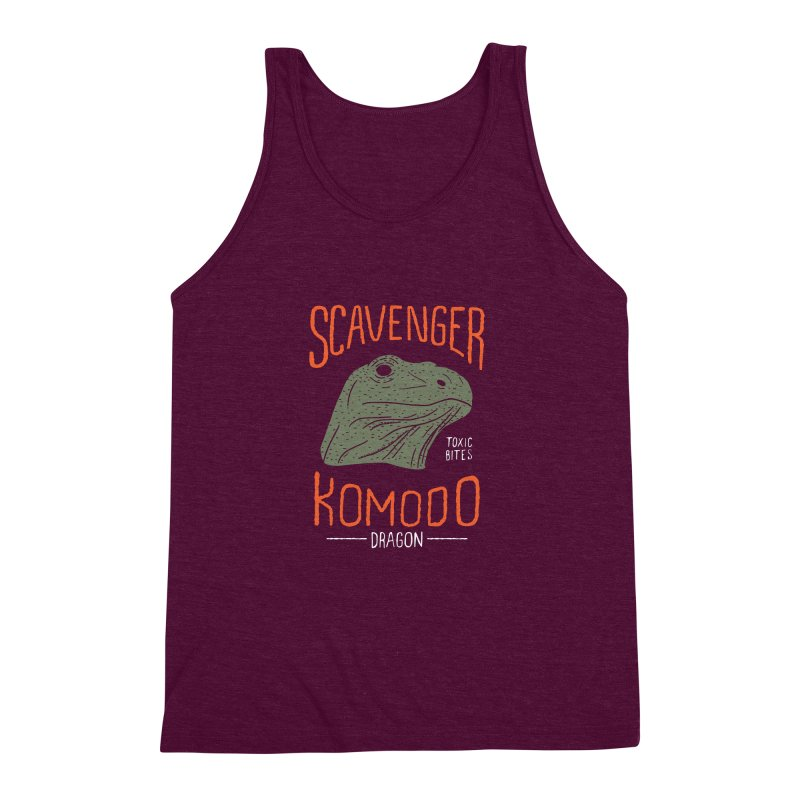 Scavenger Komodo Men's Triblend Tank by wege on threadless
