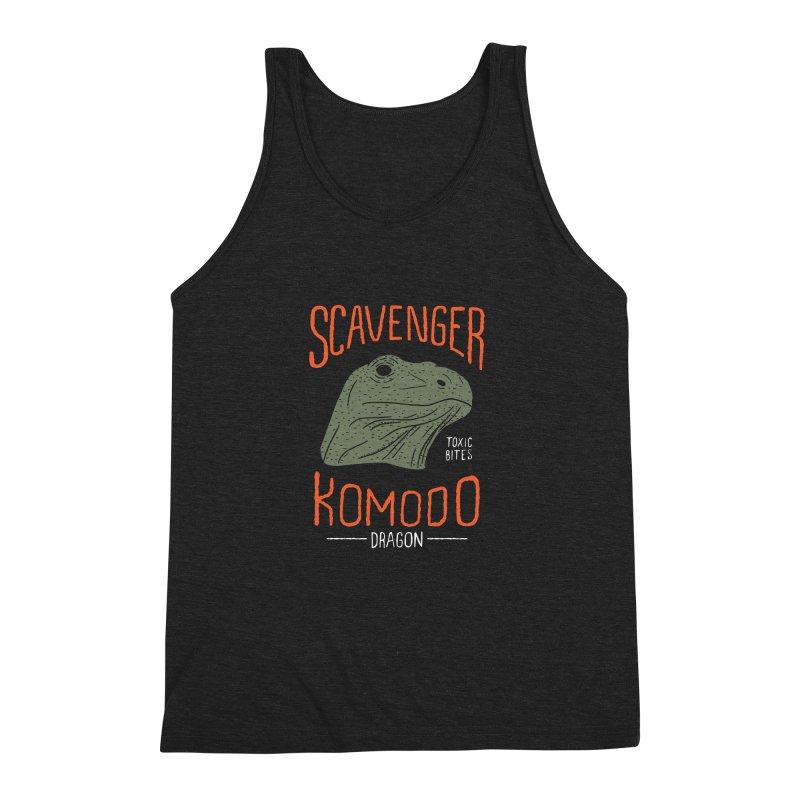 Scavenger Komodo Men's Triblend Tank by wege on threadless