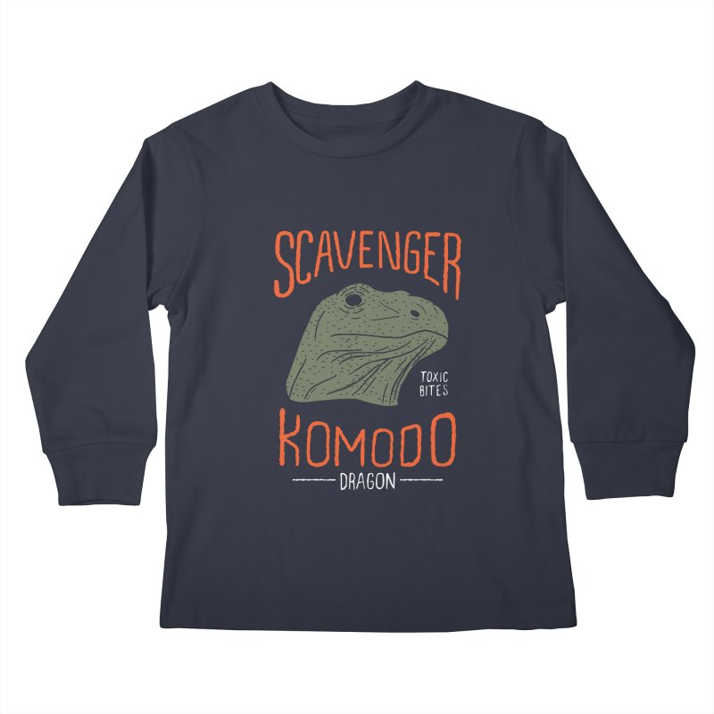 Scavenger Komodo Kids Longsleeve T-Shirt by wege on threadless