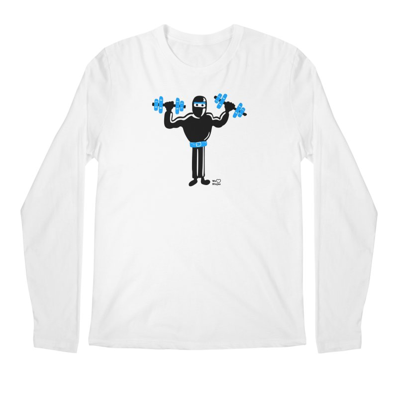 Do you even lift? Men's Longsleeve T-Shirt by Weheartninjas's Artist Shop