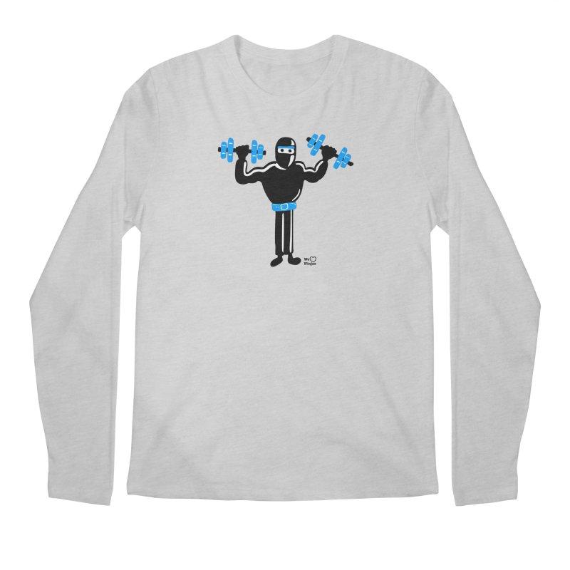 Do you even lift? Men's Regular Longsleeve T-Shirt by Weheartninjas's Artist Shop
