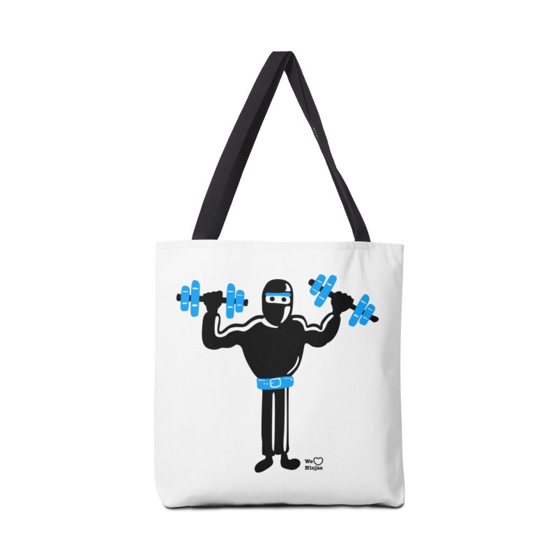 Do you even lift? Accessories Bag by Weheartninjas's Artist Shop