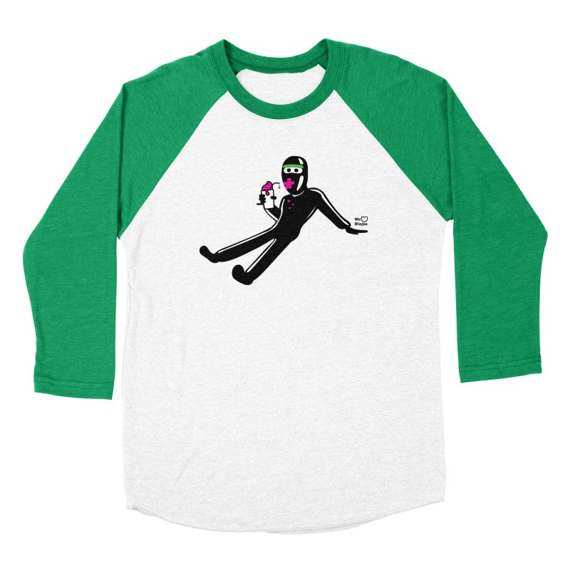 Might as well go for a slurpee Women's Baseball Triblend Longsleeve T-Shirt by Weheartninjas's Artist Shop