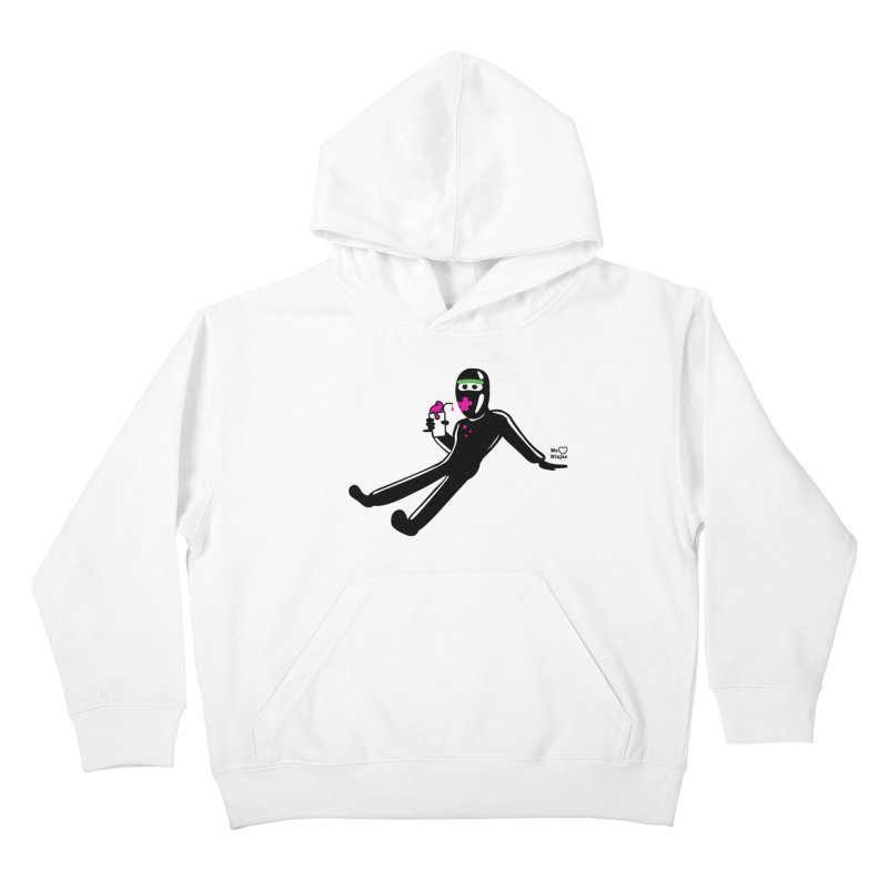 Might as well go for a slurpee Kids Pullover Hoody by Weheartninjas's Artist Shop