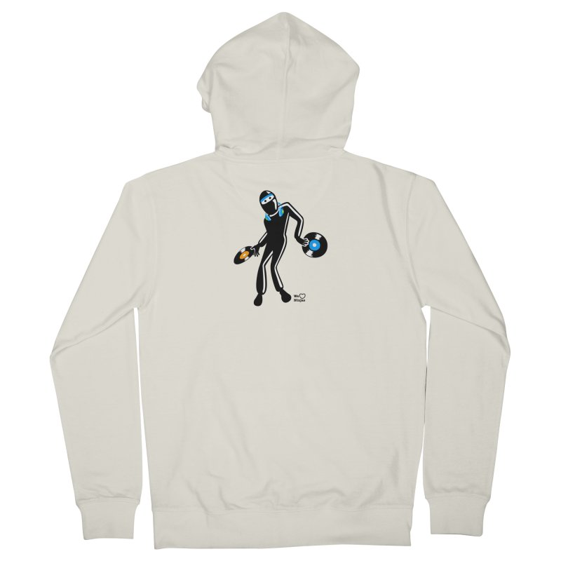 Sir Spins-salot Men's French Terry Zip-Up Hoody by Weheartninjas's Artist Shop