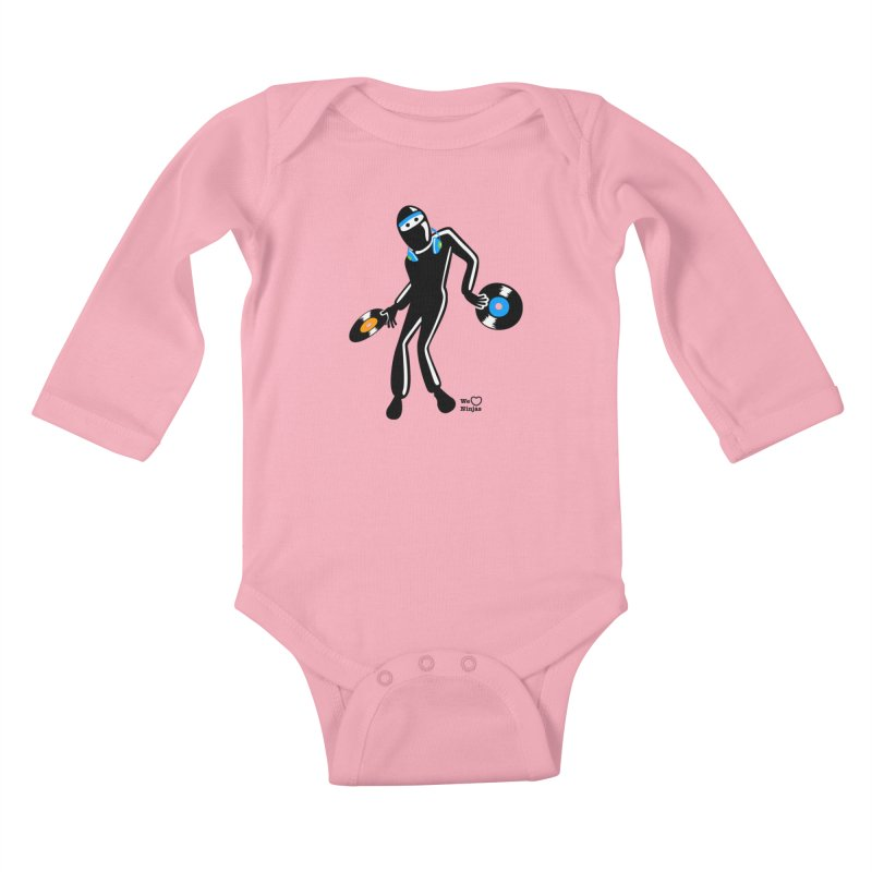 Sir Spins-salot Kids Baby Longsleeve Bodysuit by Weheartninjas's Artist Shop