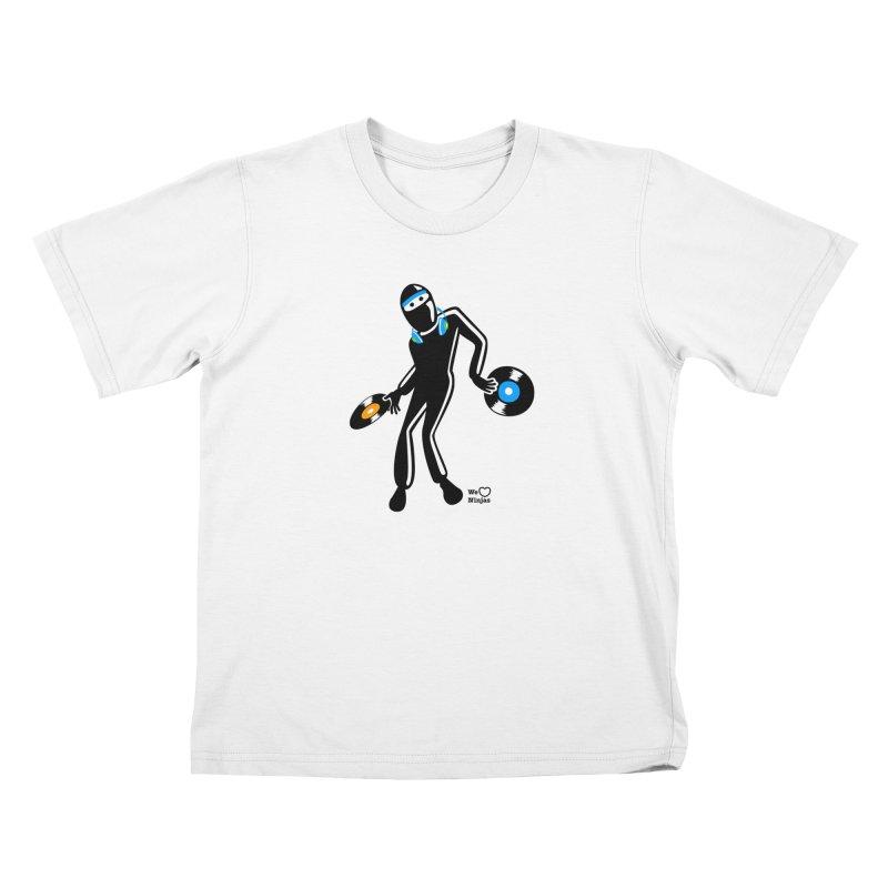 Sir Spins-salot Kids T-Shirt by Weheartninjas's Artist Shop