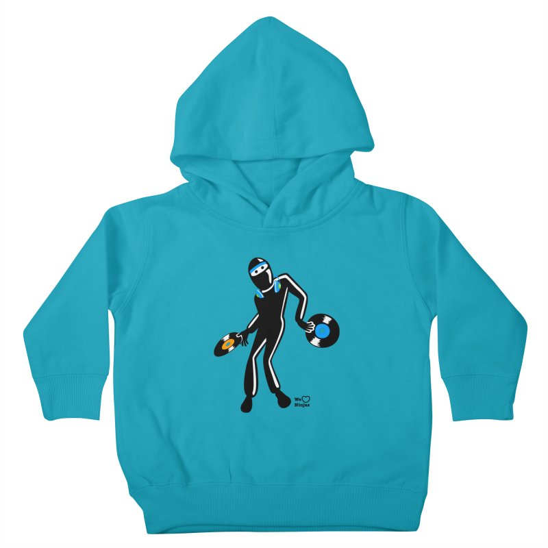 Sir Spins-salot Kids Toddler Pullover Hoody by Weheartninjas's Artist Shop