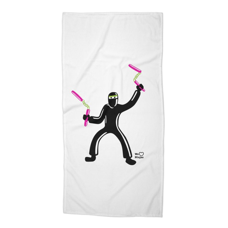 Keep practicing! Accessories Beach Towel by Weheartninjas's Artist Shop