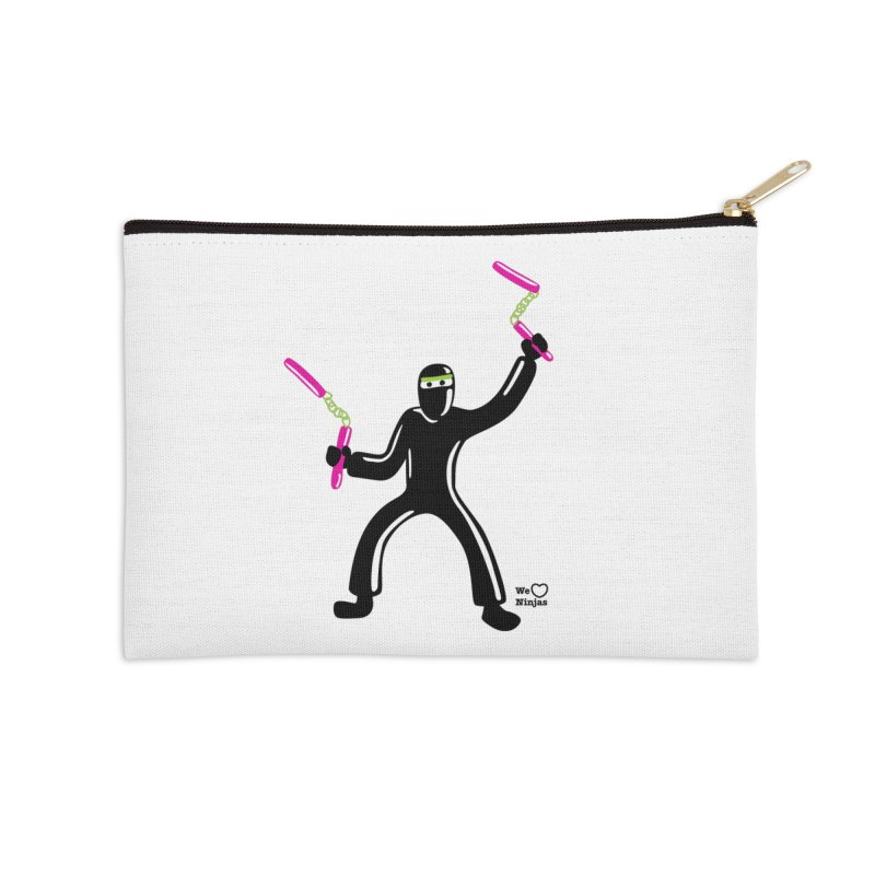 Keep practicing! Accessories Zip Pouch by Weheartninjas's Artist Shop